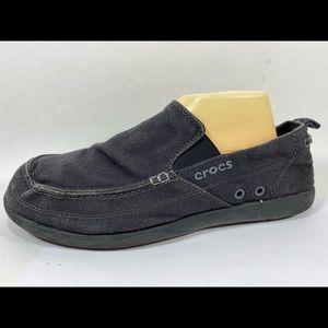 Crocs Canvas Loafers Mens 11